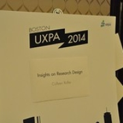 "UXPA Boston 2014 163 • <a style=""font-size:0.8em;"" href=""http://www.flickr.com/photos/29183301@N00/14022876027/"" target=""_blank"">View on Flickr</a>"